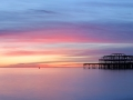 West Pier and Beautiful Sunset, Brighton