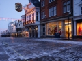 Guildford High Street in the Snow, Surrey