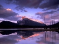 Mount Rundle, Lake Vermillion, Banff