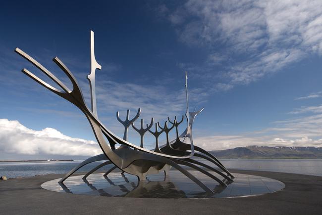 Viking Sculpture, Reykjavik