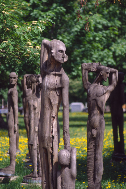 Statues, Sculpture Park, Moscow