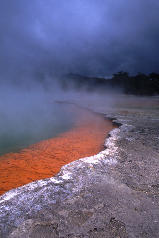 Champagne Pools, Waio-tapu