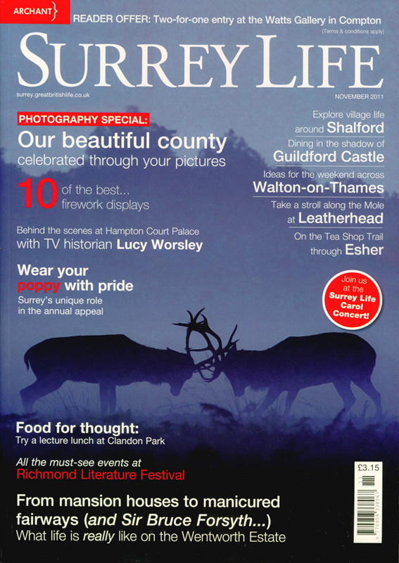 Surrey Life Cover, November Edition