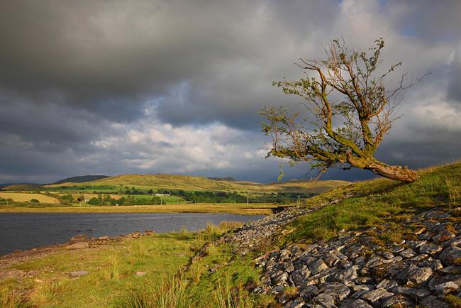 Trawsfynydd Lake, Snowdonia National Park, Wales