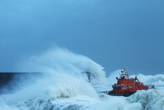 RNLI Lifeboat, Newhaven