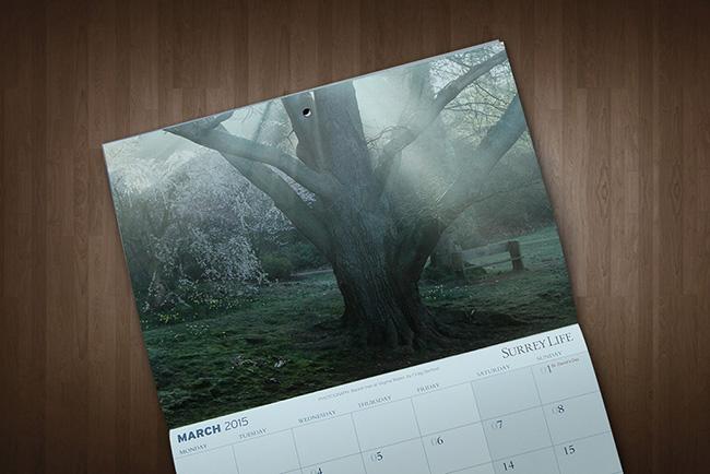 Surrey Life Calendar Competition 2015